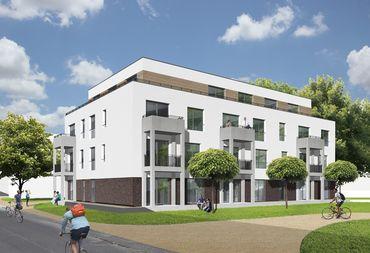 """Das Konzept """"add home"""" reagiert auf die aktuelle Marktlage und schafft architektonisch ansprechenden, bauhandwerklich qualitätsvollen und kosteneffizienten Wohnraum in der Stadt."""
